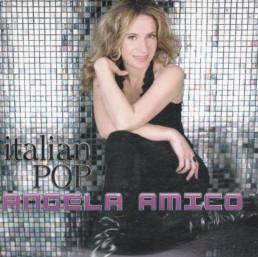 Italian pop un album de pop italienne chanté par Angela amico