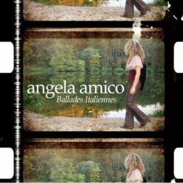 Balades italiennes un album de chanson italienne d'angela amico