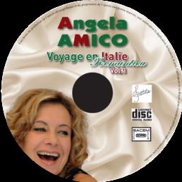 Un spectacle sur la chanson italienne et la sicielle proposé par angela amico chanteuse italienne d'expérience.